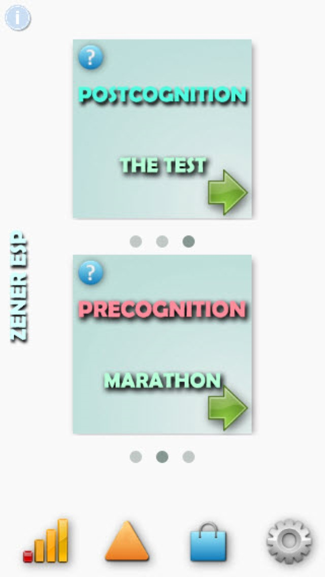 The Zener ESP - Mobile App